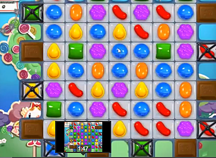 Screen Shot Candy Crush Saga