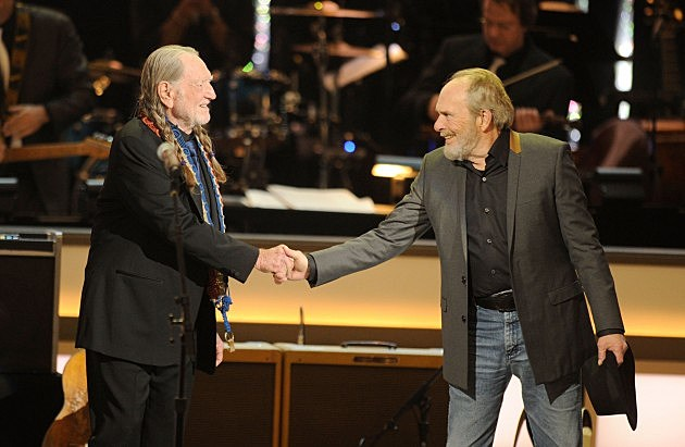 Willie Nelson and Merle Haggard (2012)