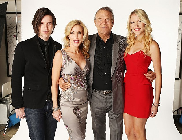 Glen Campbell and Family 2012