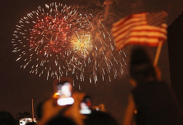 Fireworks Light Up Skies Over NYC On Fourth Of July