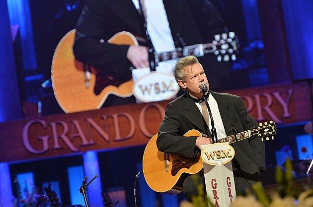 Randy Travis at George Jones' Funeral Service 2013