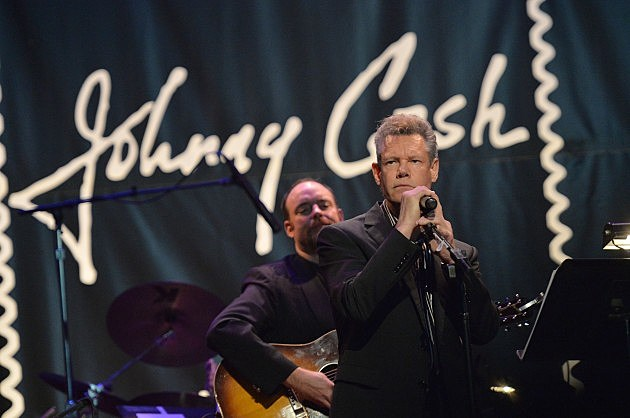 Randy Travis at Johnny Cash Forever Stamp Launch 2013