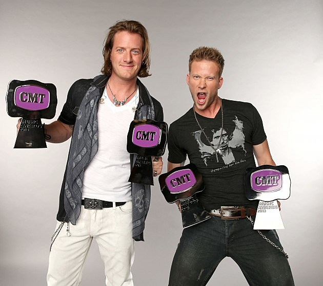 Tyler Hubbard and Brian Kelley of Florida Georgia Line
