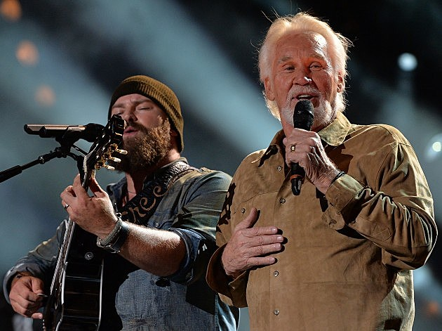Zac Brown Band and Kenny Rogers