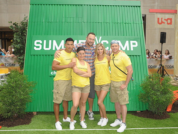 """""""Summer Camp"""" Competition With NBC's """"Today"""" Team"""