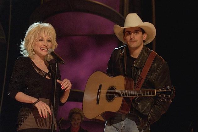 Dolly Parton and Brad Paisley