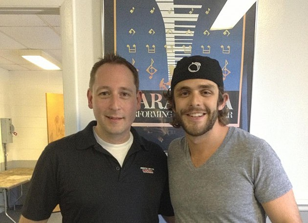 Kevin Richards and Thomas Rhett