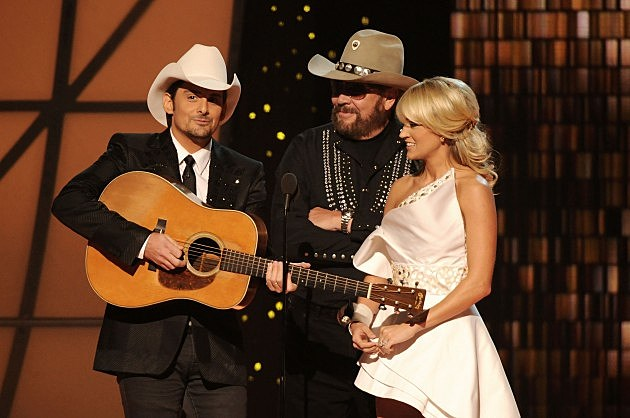 45th Annual CMA Awards with Brad Paisley, Hank Williams Jr., Carrie Underwood