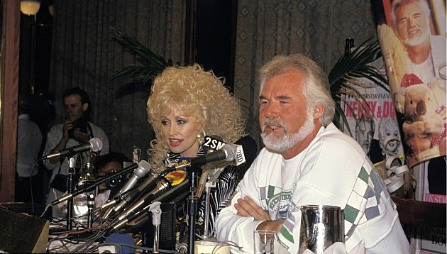 Dolly Parton and Kenny Rogers 1987