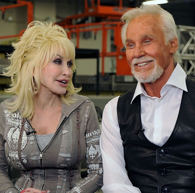 Dolly Parton and Kenny Rogers 2010