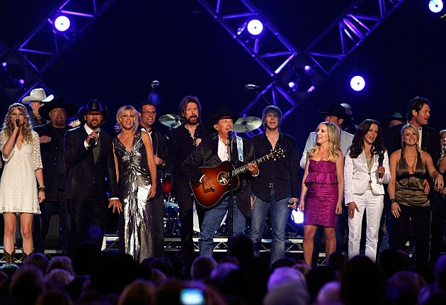 George Strait Academy Of Country Music Awards' Artist Of The Decade Show