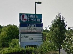 Latham Circle Mall Side Sign