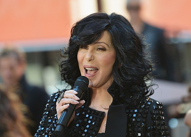 """Cher Performs On NBC's """"Today"""" 2013"""
