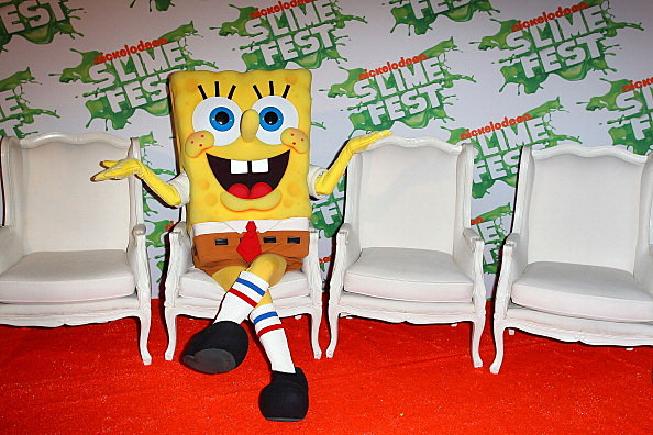 Nickelodeon Slimefest 2013 - Media Wall