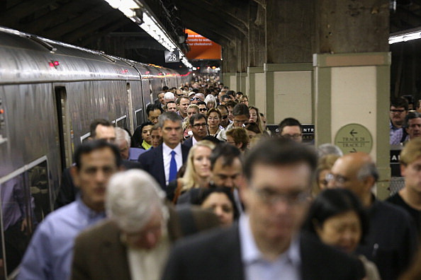 Metro North Commuter Railroad Outage Causes Major Delays In NYC Area