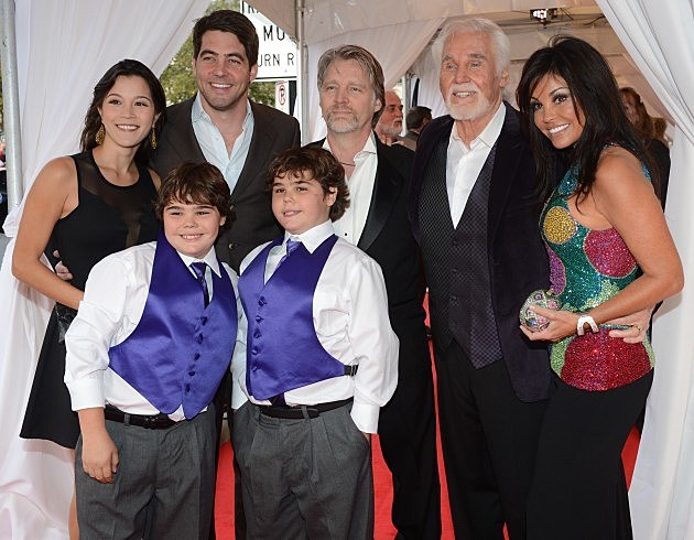 Kenny Rogers and Family - 2013 Country Music Hall Of Fame Medallion Ceremony