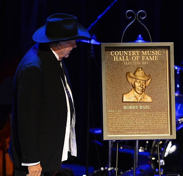 Bobby Bare - 2013 Country Music Hall Of Fame Medallion Ceremony