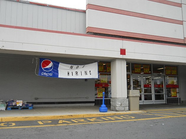 KMART Now Hiring Sign