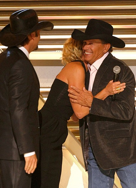 Tim McGraw, Faith Hill, George Strait