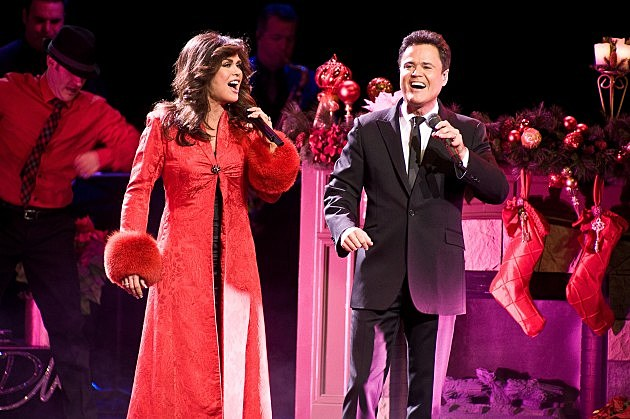 """Donny And Marie: Christmas In Chicago"" Opening Night"
