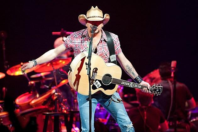 Jason Aldean at George Strait's The Cowboy Rides Away Tour 2014 - Bossier City, LA