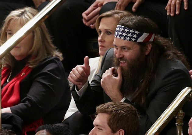 Willie and Korie Robertson at  State Of The Union Address