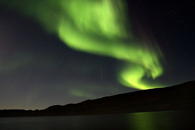 Northern Lights Near Geenland 2007