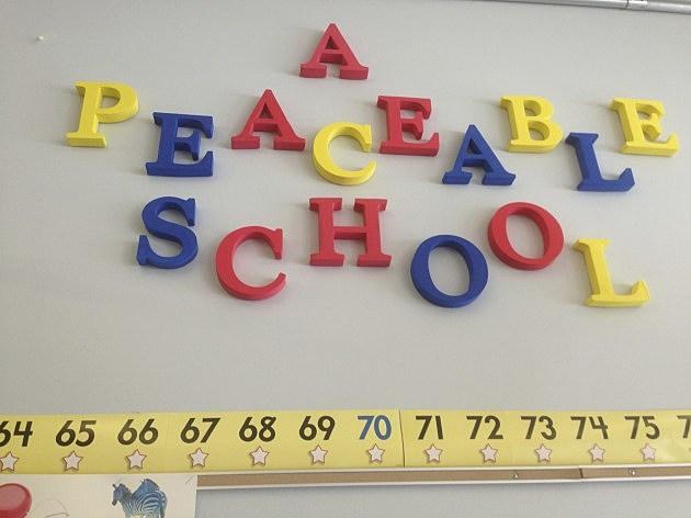 peaceable school blue creek el