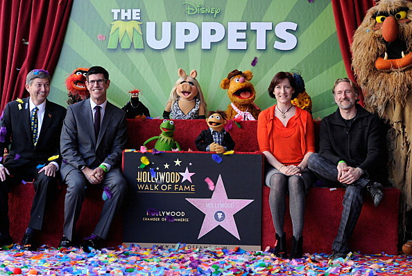 The Muppets Honored On The Hollywood Walk Of Fame