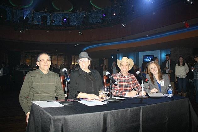 Judges - Richie, Bethany, Jay, and Vapor Auditor