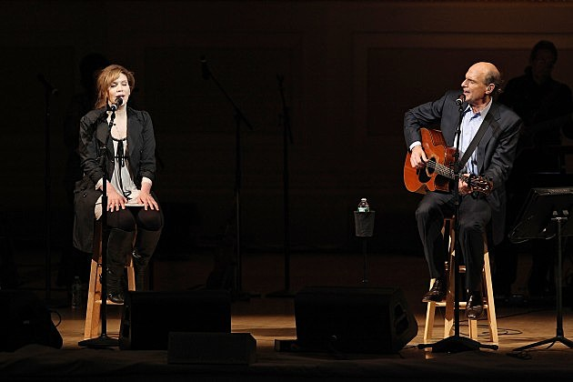 Alison Krauss and James Taylor