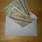 Envelope And Money