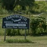 Farnsworth School Sign