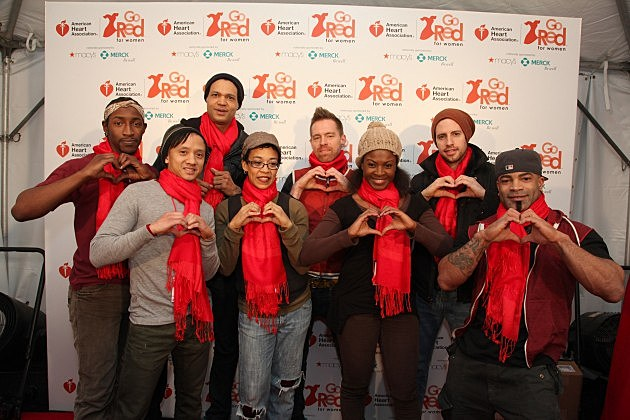 American Heart Association's Go Red For Women Movement Celebrates The 10th National Wear Red Day At Macy's Herald Square