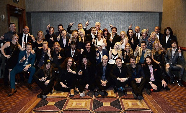 Big Machine Label Group Celebrates After The 2014 ACM Awards In Las Vegas