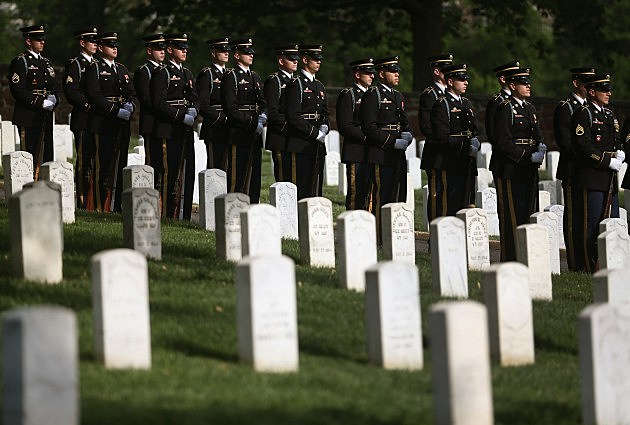 Wreath Ceremony Marks Start Of Arlington National Cemetery's 150th Anniversary Events