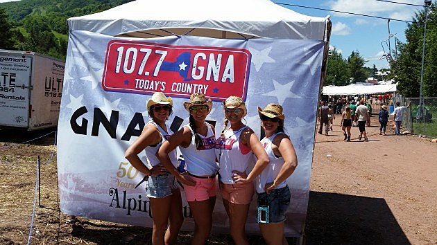 GNA Listeners At Hunter Mountain