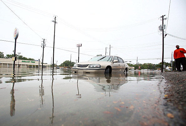 Storm Systems Brings Severe Flooding To Pensacola