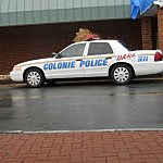 Colonie Police Car