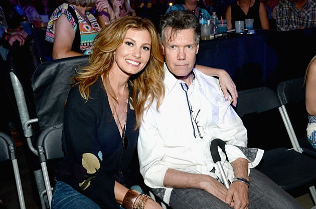 Faith Hill and Randy Travis - June 7, 2014 at George Strait concert