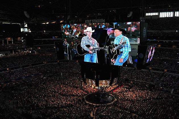 George Strait's The Cowboy Rides Away Tour Final Stop At AT&T Stadium - Show