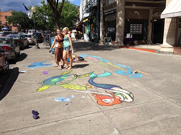 Chalk On Broadway