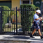 A mailman for the U.S. Postal Service