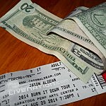 Jason Aldean Ticket And Cash