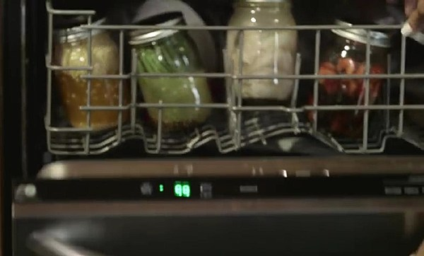 how to cook hotdogs in a dishwasher